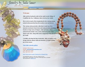 Jewelry by Julie Sauer