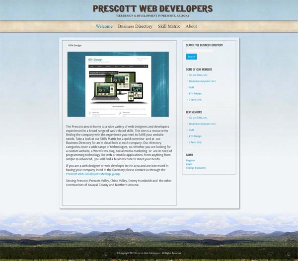 Prescott Web Developers - BTN Design